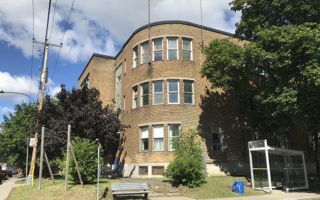 L'ex-école Allion dans le Bronx, LaSalle
