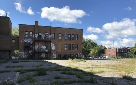 Cour de l'ex-école Allion