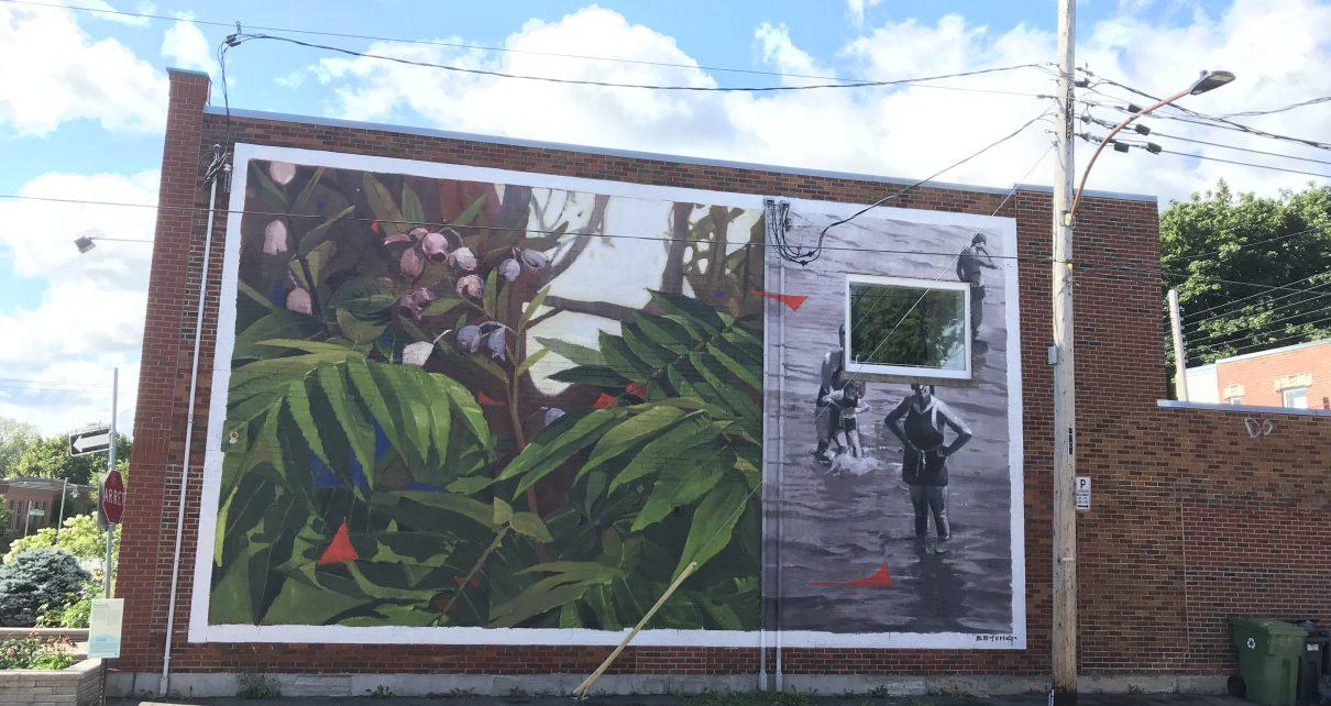 Murale de Bryan Beyung - Bronx, LaSalle