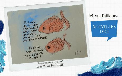 Les poissons de Jean-Pierre Petit et les pneus neige
