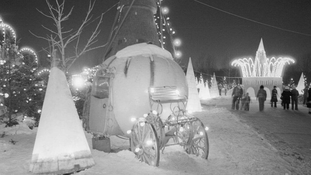Festival de Noël au Parc Angrignon. Ville LaSalle (1977)