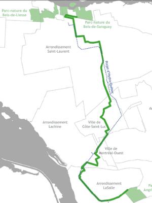 Nouveau corridor vert entre LaSalle et Saint-Laurent