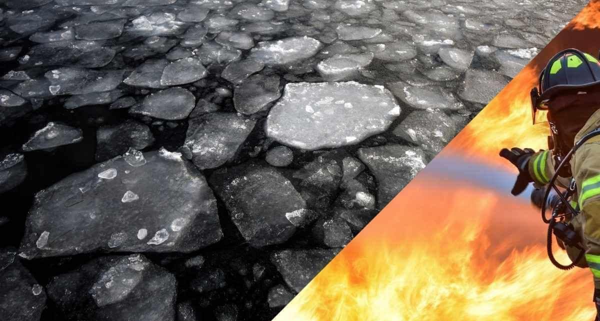 Les dangers de la glace et du feu
