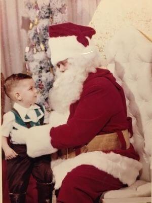 Daniel Deschamps et le Père Noël (1959)
