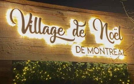 Village de Noël au marché Atwater dans le Sud-Ouest à Montréal