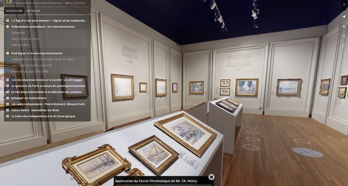 Visite virtuelle de l'exposition Paris au temps du postimpressionnisme : Signac et les Indépendants, présentée au Musée des beaux-arts de Montréal (MBAM) en 2020