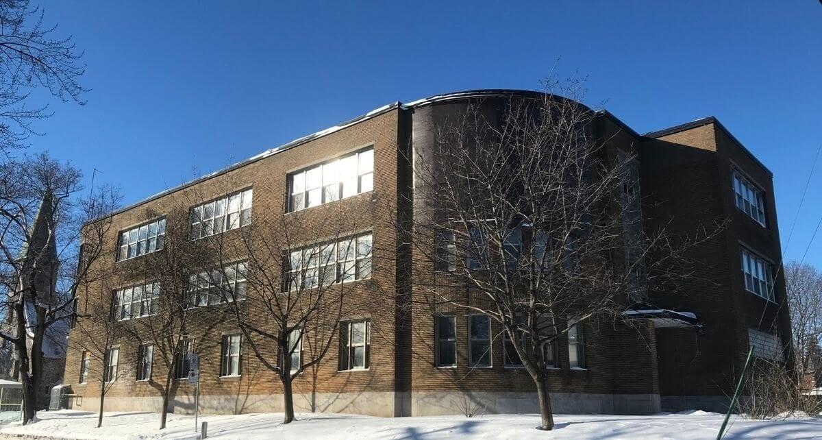 L'ex-école Allion sur Edouard à LaSalle