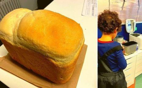 La recette du pain par jour au service de garde