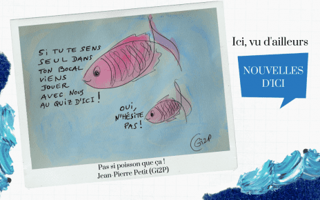 Pas si poisson que ça : QuizDici, un quiz interactif sur l'actualité d'ici - février 2021