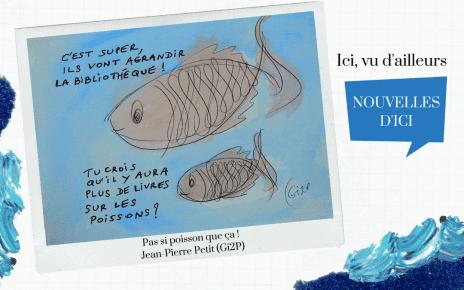 Pas si poisson que ça : Le déménagement de la bibliothèque de LaSalle