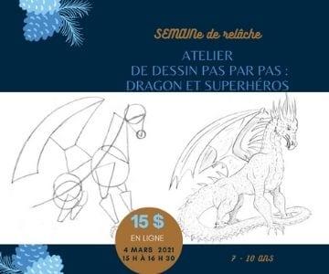 atelier dragon et superhéros
