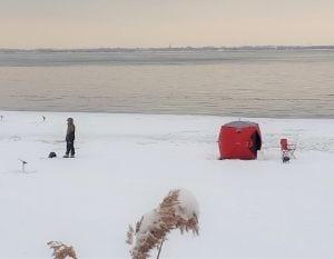Pêche sur glace à Verdun