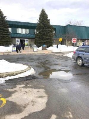Centre Dollard-St-Laurent, clinique de vaccination - Crédit photo : DT