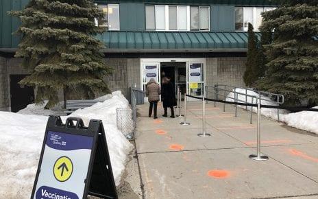 Centre Dollard-St-Laurent, clinique de vaccination