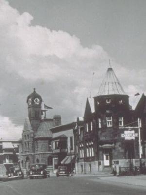 Rue St Joseph à Lachine entre 1935 et 1950