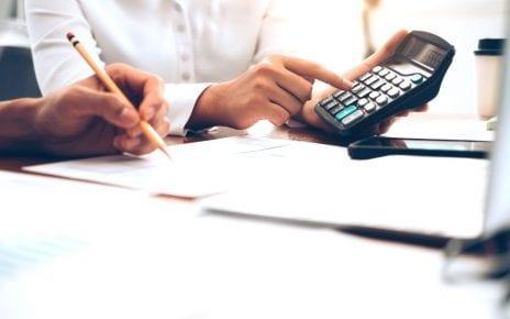 Calcul pour les impôts