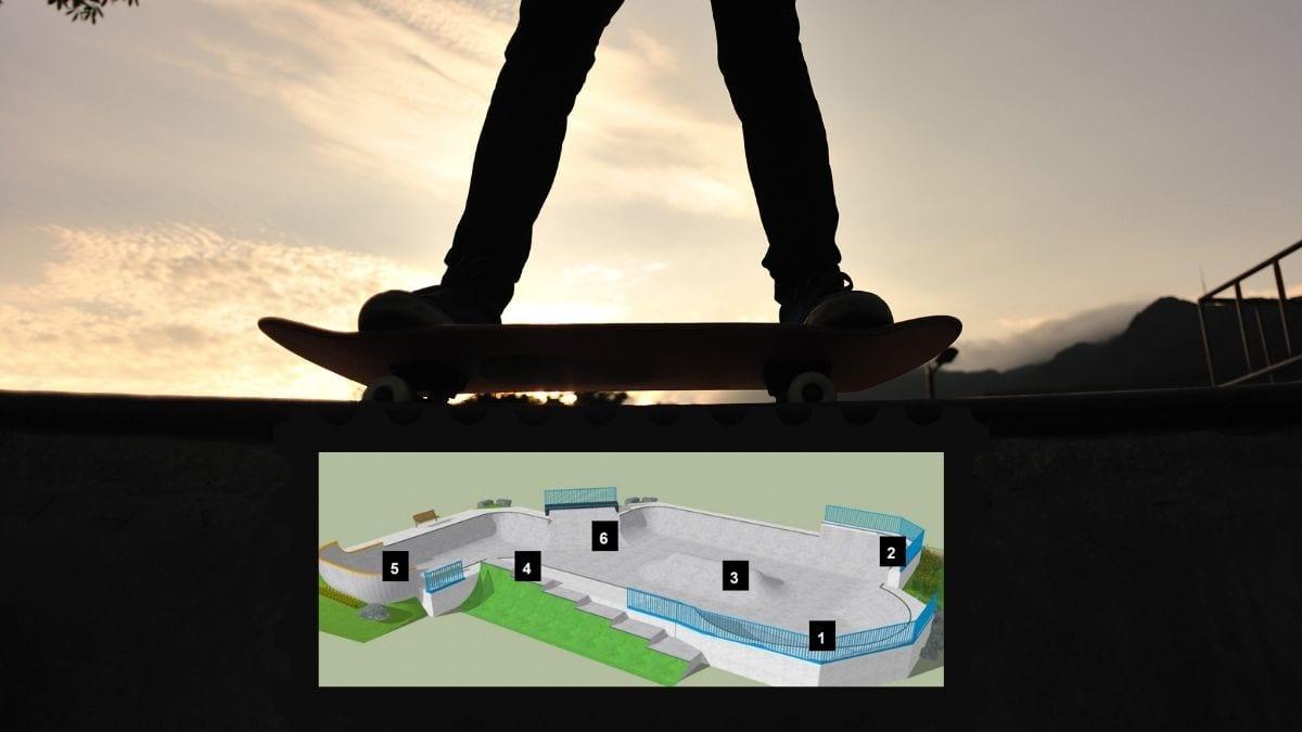 une image 3D du futur bowl de Vedun signé SPINWORKS
