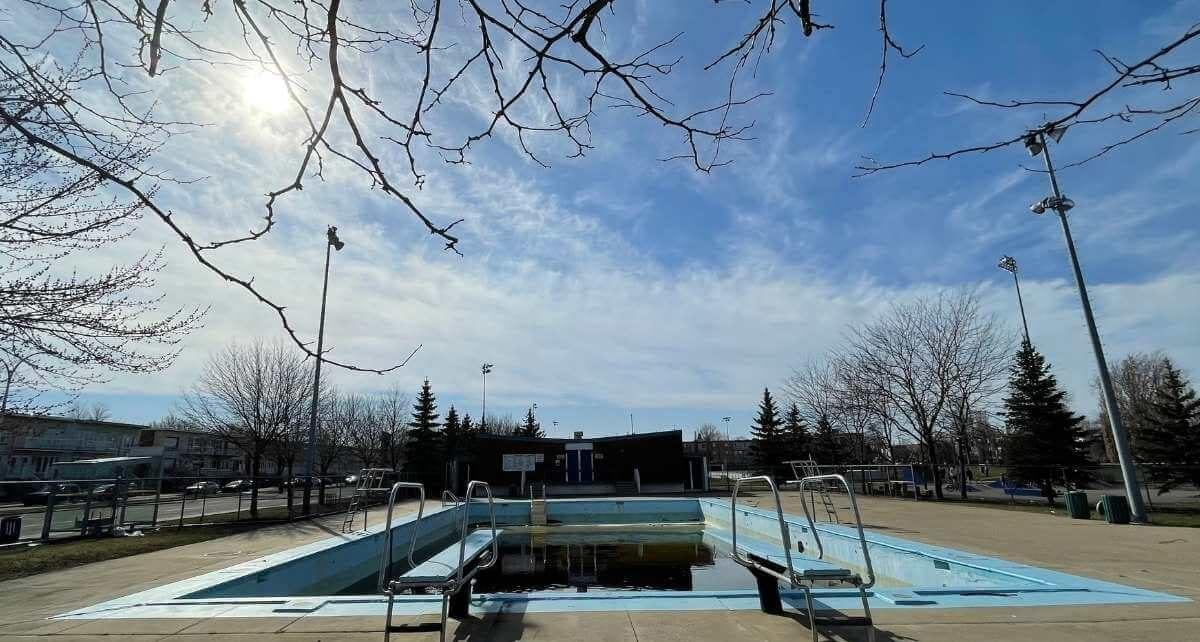 La piscine du parc Raymond à LaSalle