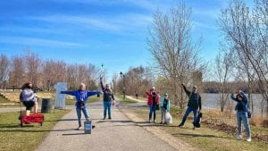 Propre @ Verdun - Ramassage de déchets le 11 avril - Duane Boisclair