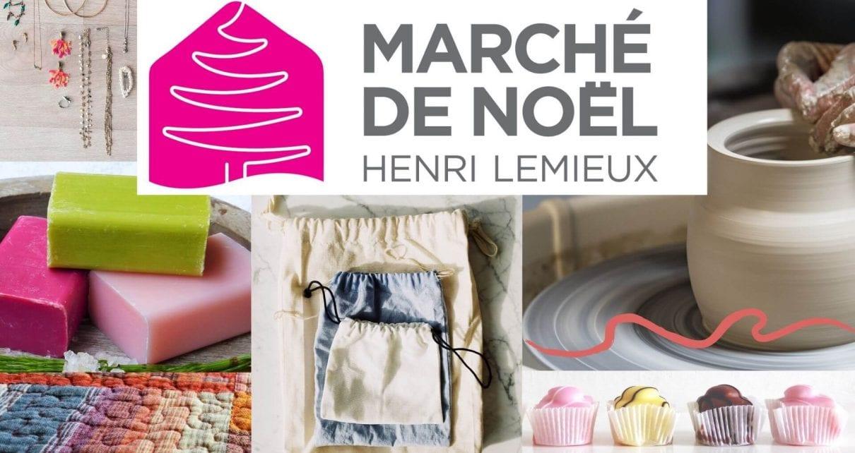 Marché de Noël du Centre Henri-Lemieux des 4 et 5 décembre 2021