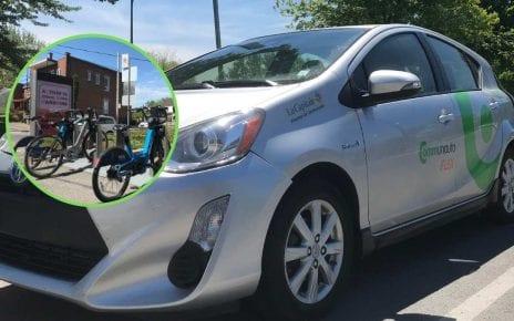Services d'autopartage et de vélopartage dans le quartier du Bronx à LaSalle