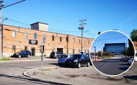 Secteur Hickson-Dupuis avec l'usine Atwater en caméo
