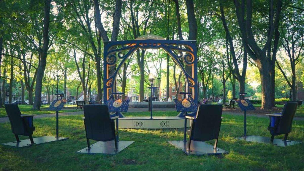 La Sentinelle au parc Saint-Paul dans l'arrondissement du Sud-Ouest