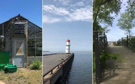 Les serres de Verdun, le phare du Quai 34 à Lachine et la baie de Quenneville à LaSalle