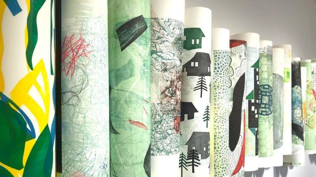 Oeuvre collective de 31 artistes de l'Association des artistes de LaSalle - Crédit photo : Karine Joly