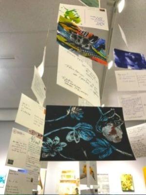 Projet d'art postal de l'Association des artistes de LaSalle - Crédit photo : Karine Joly