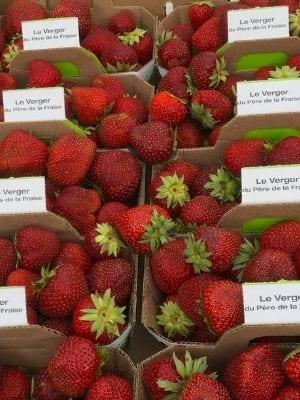 Des fraises du Québec !