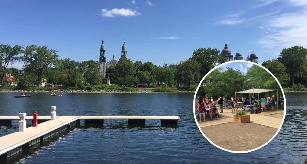 Grand Splash au nouveau parc riverain de Lachine le 1er juillet