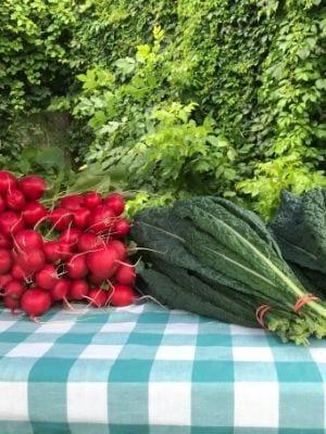 Des légumes frais
