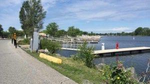 Le site du futur parc riverain de Lachine