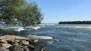 Le fleuve et ses rapides à LaSalle