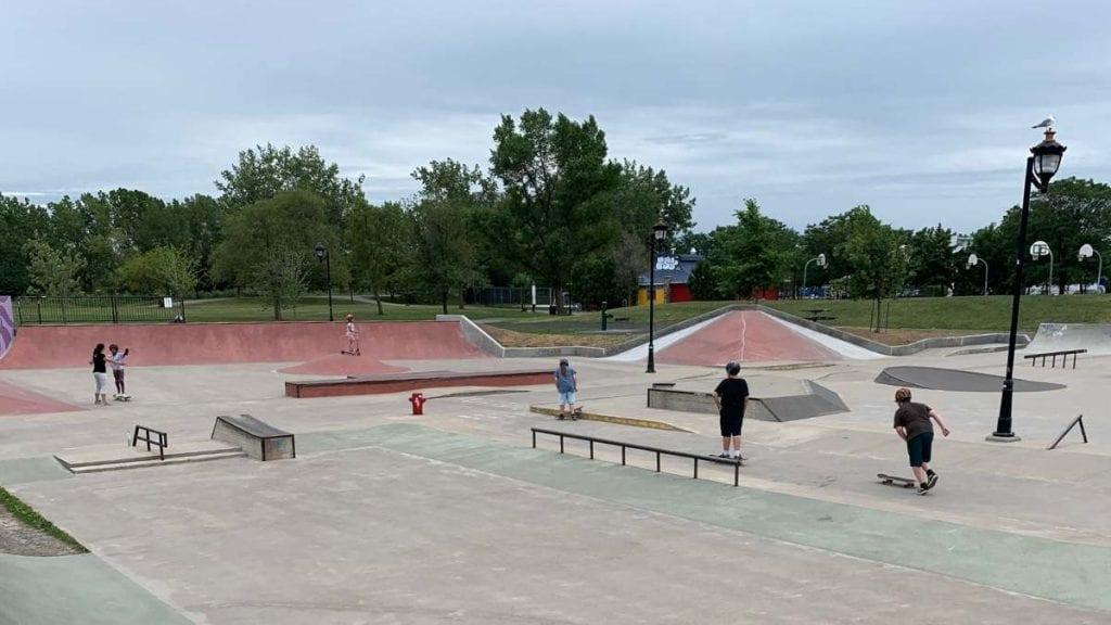 Skate Plaza de Verdun