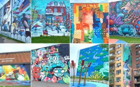 8 murales colorées de Verdun