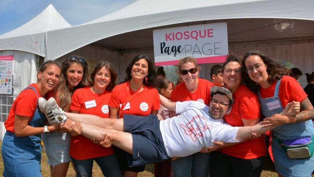 Le CA de Page par Page avec Simon Boulerice au Festival Litterature Jeunesse de Montréal