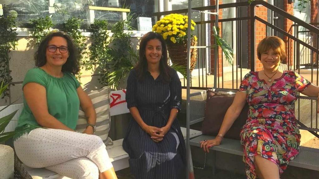 Johanne Richards, Dominique Anglade et Hélène David