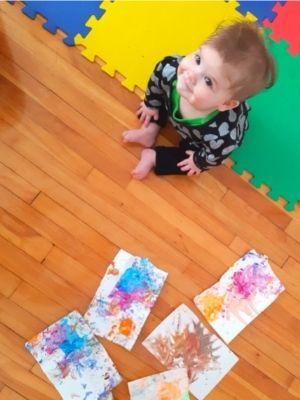 Les oeuvres de bébé