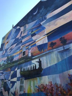 Murale La Gare du Canal de Dodo_Ose à Lachine