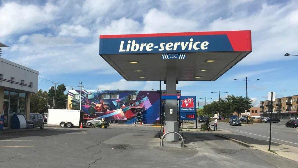 La murale de Fluke sur Dollard à LaSalle (28 sep 2021)
