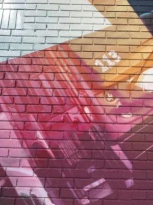 La murale de Fluke sur Dollard à LaSalle (28 sep 2021) - Crédit photo : Karine Joly