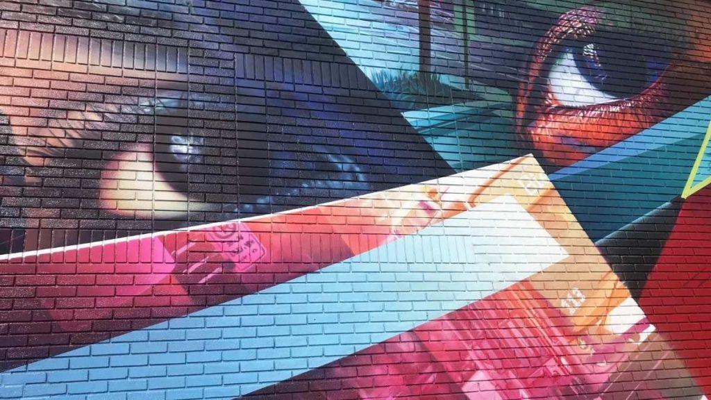 La murale de Fluke sur Dollard à LaSalle