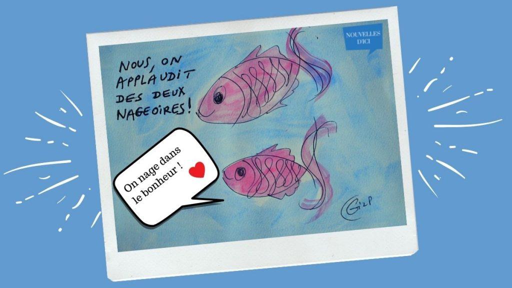 Les poissons de Jean-Pierre heureux de l'annonce des aménagements compensatoires