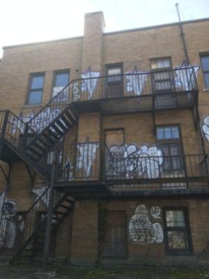 l'ex-école Allion dans le Bronx à LaSalle (9 octobre 2021)